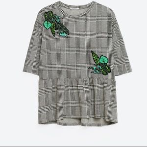 Zara patch check top